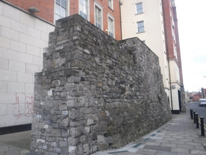 This wall dates back to the Anglo-Norman conquest of the late 1100s and is one of the last remnants of said wall. This wall is older than the United States x3, to put it into perspective. When we have long crumbled into the dust of history, comrades, what will our ancestors look upon and marvel?